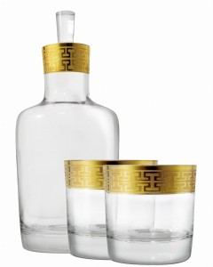 Zestaw do whisky 500 ml Hommage Gold Classic Zwiesel