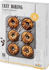 Forma do mini babeczek EASY BAKING 6 ciastek Birkmann