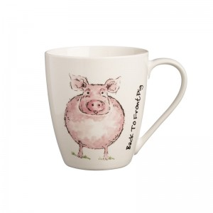 Kubek 350 ml Back To Front Pig Mug Price & Kensington