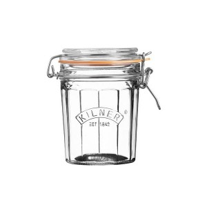 Słoik 0,45l Facetted Clip Top Jar Kilner