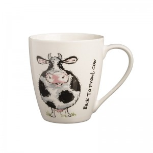 Kubek 350 ml Back To Front Cow Mug Price & Kesington
